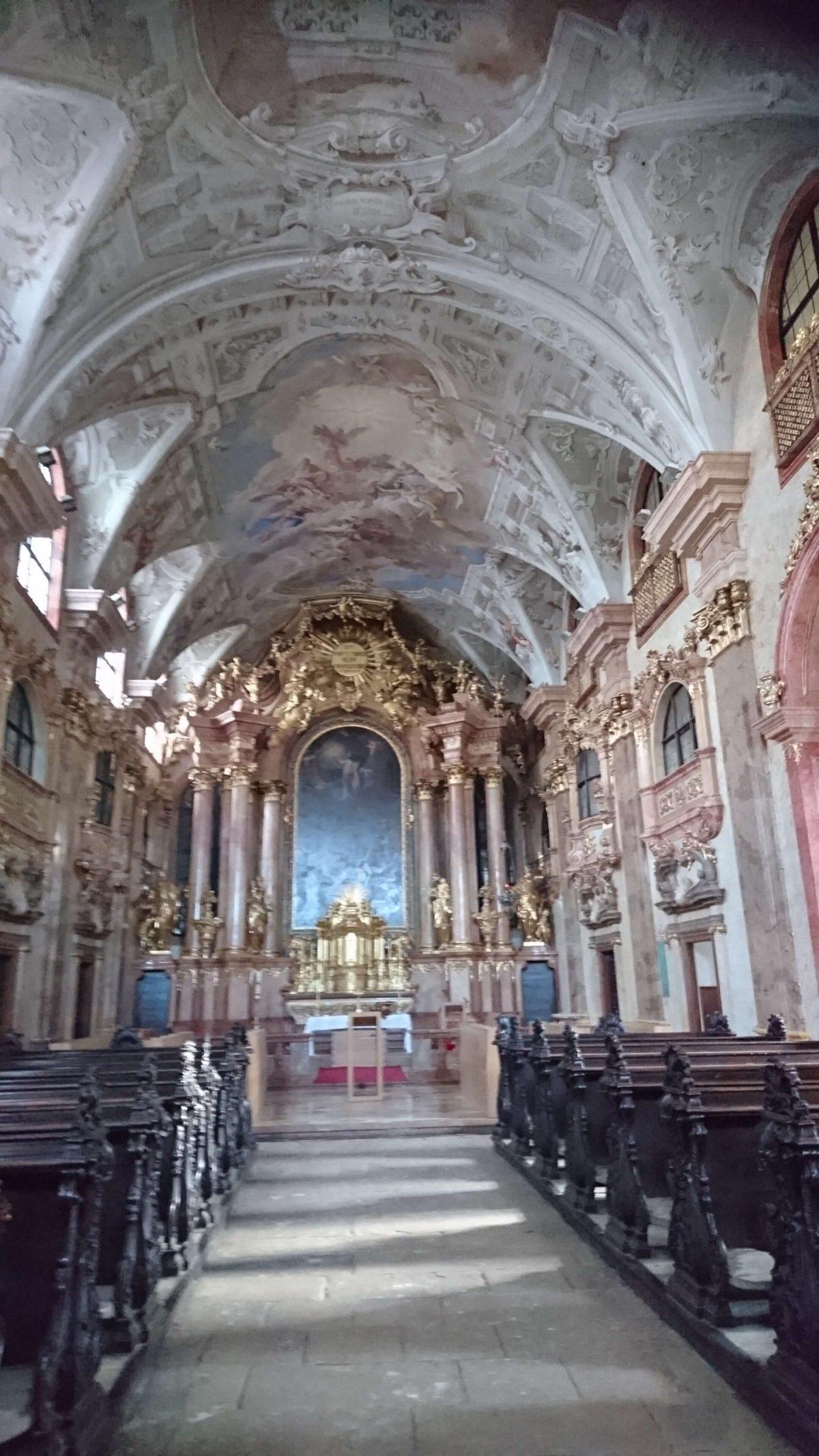 Barockjuwel Benediktinerkirche